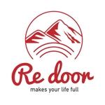 sunny327さんのキャンプ/アウトドアブランド「Re door 」のロゴへの提案