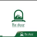 prodigy-artさんのキャンプ/アウトドアブランド「Re door 」のロゴへの提案