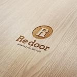 doremidesignさんのキャンプ/アウトドアブランド「Re door 」のロゴへの提案