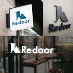 nekosuさんのキャンプ/アウトドアブランド「Re door 」のロゴへの提案