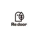 pekoodoさんのキャンプ/アウトドアブランド「Re door 」のロゴへの提案