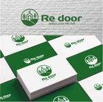 drkigawaさんのキャンプ/アウトドアブランド「Re door 」のロゴへの提案