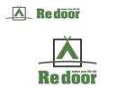 YoshiakiWatanabeさんのキャンプ/アウトドアブランド「Re door 」のロゴへの提案