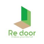 sriracha829さんのキャンプ/アウトドアブランド「Re door 」のロゴへの提案