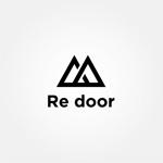 tanaka10さんのキャンプ/アウトドアブランド「Re door 」のロゴへの提案