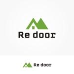 siftさんのキャンプ/アウトドアブランド「Re door 」のロゴへの提案