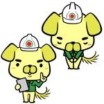 株式会社富建の犬のキャラクターデザインへの提案