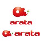 perles_de_verreさんの「arata」のロゴ作成への提案