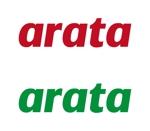 tsujimoさんの「arata」のロゴ作成への提案