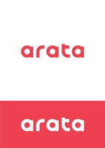 kazubonさんの「arata」のロゴ作成への提案