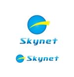 claphandsさんの「Skynet」のロゴ作成への提案