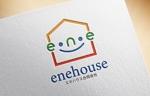 不動産の売買・賃貸運営・電気工事会社「エネハウス合同会社」のロゴへの提案