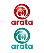 king_jさんの「arata」のロゴ作成への提案