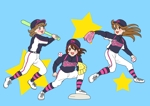 mihoko-fjwrさんのガールズ小学生野球チームのかわいい萌えイラスト募集への提案