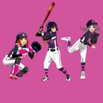 ryottenさんのガールズ小学生野球チームのかわいい萌えイラスト募集への提案
