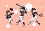 pecotyannさんのガールズ小学生野球チームのかわいい萌えイラスト募集への提案