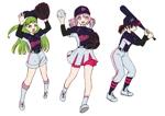 momomurasaki2さんのガールズ小学生野球チームのかわいい萌えイラスト募集への提案