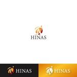 tomotinさんの新規設立会社:株式会社「HINAS」のロゴへの提案