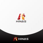 ter4493さんの新規設立会社:株式会社「HINAS」のロゴへの提案