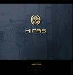 masaaki1さんの新規設立会社:株式会社「HINAS」のロゴへの提案