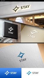 NJONESさんのリノベーションとインテリアの新会社「STAY」のロゴへの提案