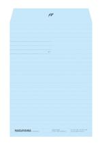 tarjetaさんの会社の封筒デザイン依頼への提案