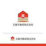 t-youhaさんの不動産業者 「天惠不動産株式会社」のロゴへの提案