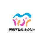 chanlanさんの不動産業者 「天惠不動産株式会社」のロゴへの提案