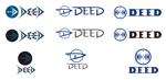 merryspiceさんの男性2人組音楽ユニット「DEED」のロゴへの提案