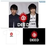 tatsudesign13さんの男性2人組音楽ユニット「DEED」のロゴへの提案