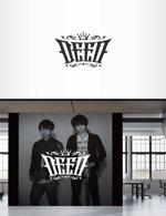 Doing1248さんの男性2人組音楽ユニット「DEED」のロゴへの提案