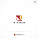 RIKU5555さんの不動産業者 「天惠不動産株式会社」のロゴへの提案