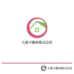 speak-no-evilさんの不動産業者 「天惠不動産株式会社」のロゴへの提案