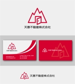 drkigawaさんの不動産業者 「天惠不動産株式会社」のロゴへの提案