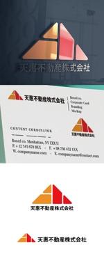 cozzyさんの不動産業者 「天惠不動産株式会社」のロゴへの提案