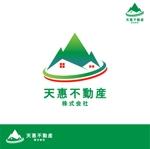 Qitianさんの不動産業者 「天惠不動産株式会社」のロゴへの提案