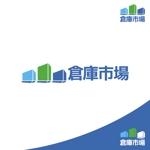 rogomaruさんの事業用不動産(倉庫・工場・事業用地)の売買・賃貸の専門店「倉庫市場」のロゴへの提案
