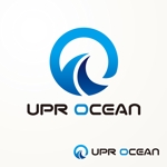 ging_155さんのIoTプラットフォーム 「UPR OCEAN」のロゴへの提案