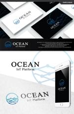 take5-designさんのIoTプラットフォーム 「UPR OCEAN」のロゴへの提案