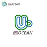 YTOKUさんのIoTプラットフォーム 「UPR OCEAN」のロゴへの提案