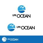 sin_cworkさんのIoTプラットフォーム 「UPR OCEAN」のロゴへの提案