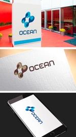 pekoodoさんのIoTプラットフォーム 「UPR OCEAN」のロゴへの提案