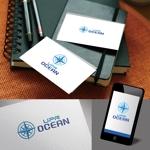 atomgraさんのIoTプラットフォーム 「UPR OCEAN」のロゴへの提案