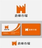 drkigawaさんの事業用不動産(倉庫・工場・事業用地)の売買・賃貸の専門店「倉庫市場」のロゴへの提案