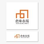 VEROさんの事業用不動産(倉庫・工場・事業用地)の売買・賃貸の専門店「倉庫市場」のロゴへの提案
