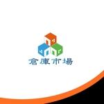 ark-mediaさんの事業用不動産(倉庫・工場・事業用地)の売買・賃貸の専門店「倉庫市場」のロゴへの提案