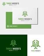 m-spaceさんの建築デザイン会社 「株式会社スリーウッド」のロゴへの提案
