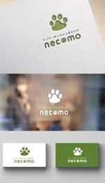 coque0033さんの愛猫家向け専用賃貸物件「necomo」のロゴ作成への提案
