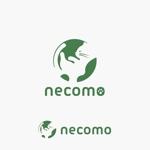 edesign213さんの愛猫家向け専用賃貸物件「necomo」のロゴ作成への提案
