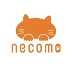 gold-whiteさんの愛猫家向け専用賃貸物件「necomo」のロゴ作成への提案